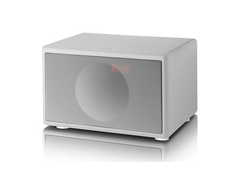 Classic S WHITE Handcrafted HiFi Speaker Alarm Clock Radio FM DAB+ Bluetooth