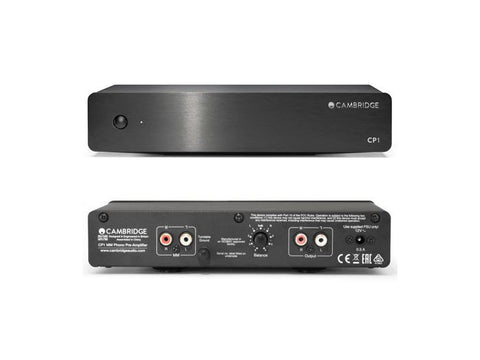 CP1 MM Phono Preamp - BLACK