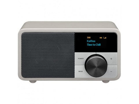 DDR-7 Silver Bluetooth Digital Radio DAB+ FM