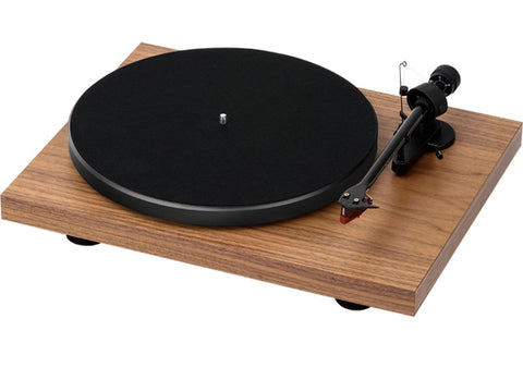 Debut Carbon Walnut Turntable + Ortofon 2M Red