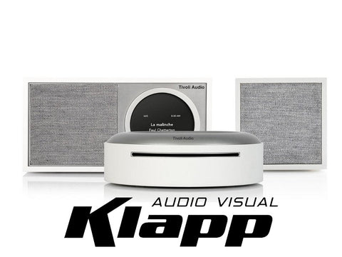 ART MODEL ONE DIGITAL + Cube Speaker + Model CD Player White