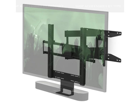 Cantilever Mount for TV SONOS BEAM OR PLAYBAR BLACK