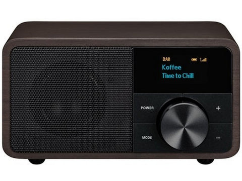 DDR-7 Black Wood Bluetooth Digital Radio DAB+ FM