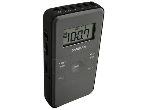 DT-140 POCKET RADIO - BLACK