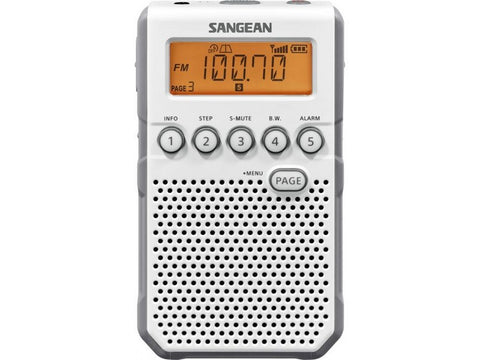 DT-800 POCKET RADIO Ultra-compact White