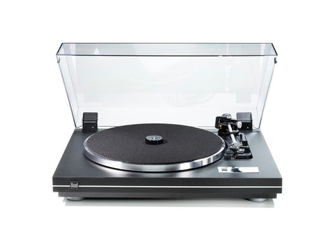 CS-455-1 EV Turntable Black Silver