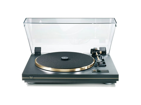 CS-455-1 Turntable Black Gold