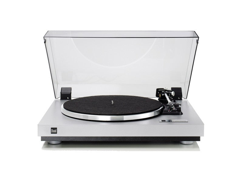 CS-455-1 Turntable Silver