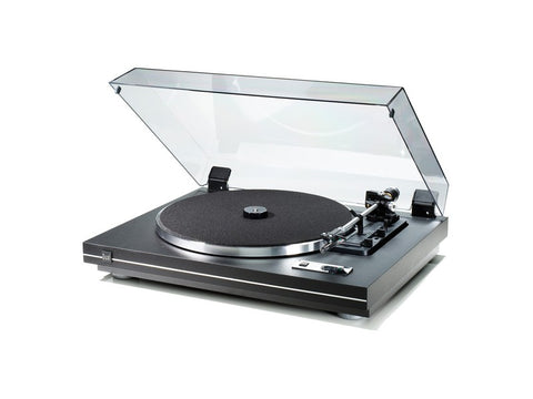 CS-455-1 Turntable Black Silver