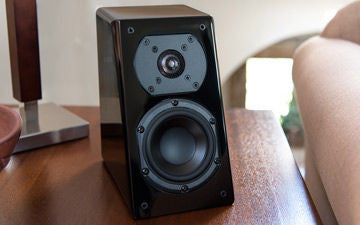Prime Elevation Speaker Pair Piano Gloss Black