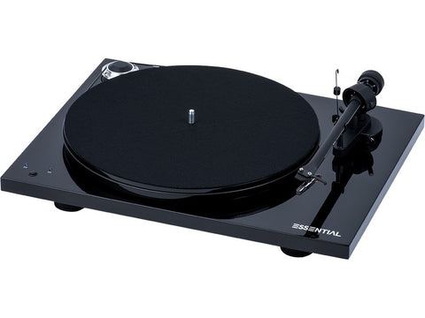 Essential III SB Turntable BLACK with Ortofon OM10 Cartridge