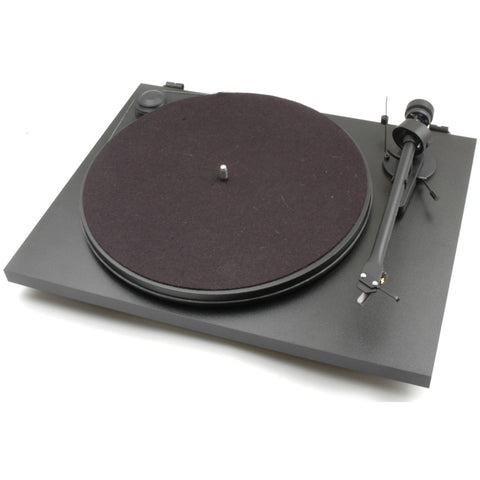 Pro-Ject Essential II Phono USB Turntable BLACK with Ortofon OM5e Cartridge