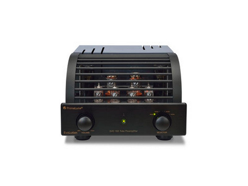 PrimaLuna EVO 100 Tube Preamplifier (EL34) Black | Klapp Audio Visual
