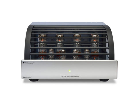 EVO 200 Tube Power Amplifier (EL34) Silver