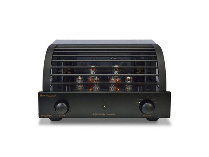 PrimaLuna EVO 200 Tube Preamplifier Black | Klapp Audio Visual