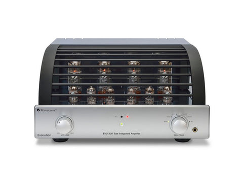 EVO 300 Tube Integrated Amplifier (EL34) Silver