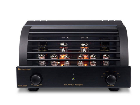 EVO 400 Tube Preamplifier Black