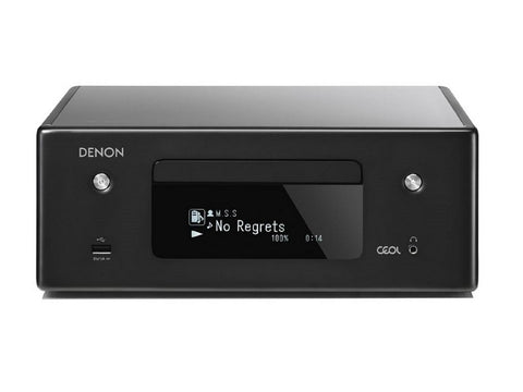 RCDN10 Streaming Mini System CD Receiver Black