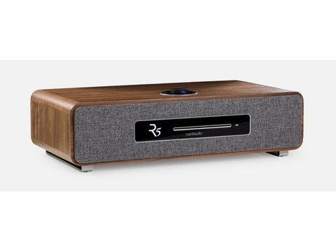 R5 Mk1 Integrated High Fidelity Music System Walnut