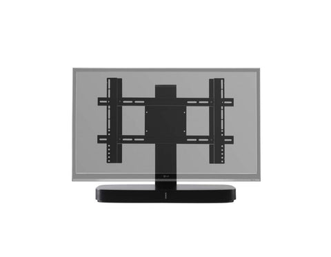 Adjustable TV Stand for Sonos PLAYBASE Black