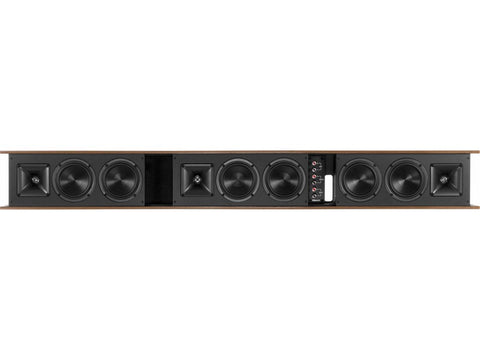 Heritage Theater Bar Passive 3-channel Soundbar Walnut
