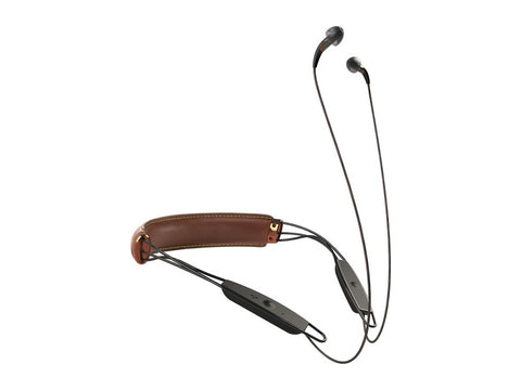 X12 Neckband In-ear Wireless Bluetooth Headphones Brown