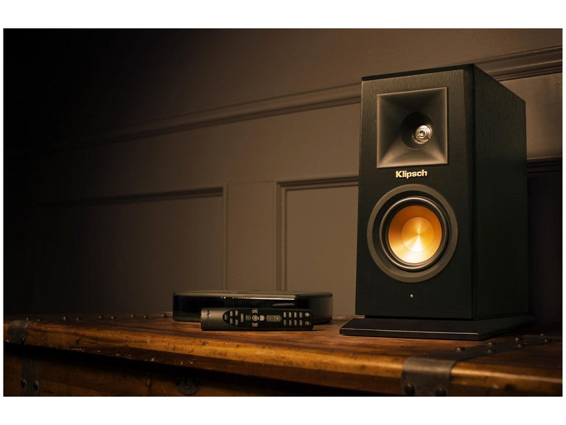 klipsch us cherry bookshelf mart photo audio speakers details images in