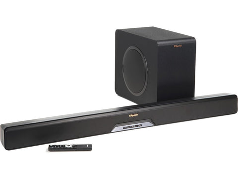 "Reference RSB-14 Powered 2.1 Sound Bar WITH 8"" Wireless Subwoofer"