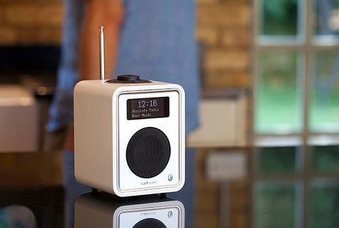 R1 MkIII Deluxe Tabletop Radio Bluetooth WHITE