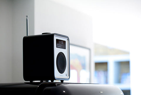 R1 MkIII Deluxe Tabletop Radio Bluetooth BLACK