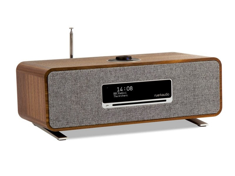 R3 Music System Walnut