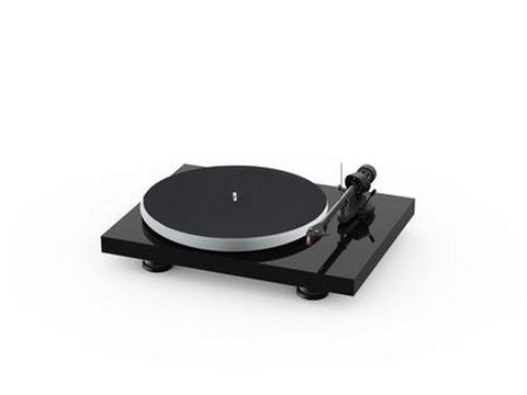 Debut Carbon Evo Acryl Turntable High Gloss Black with Ortofon 2M Red Cartridge