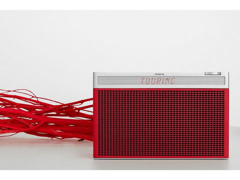 Touring L RED Portable Bluetooth HiFi Speaker Radio FM DAB+