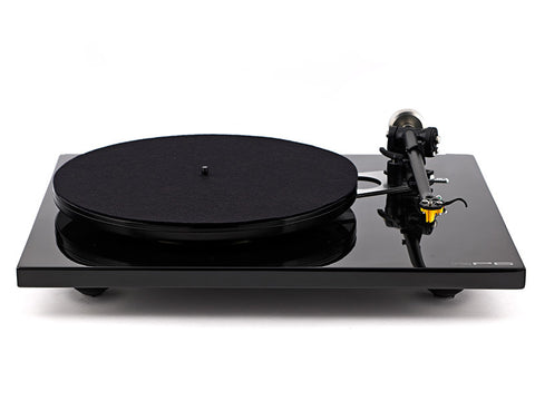 RP6 33/45rpm Belt Drive Turntable - BLACK