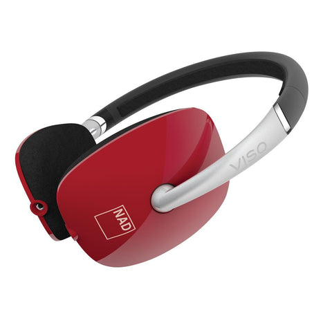 VISO HP30 On-Ear Headphones - Gloss Red