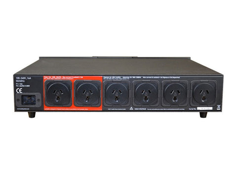 EVO3 SIGMAS 6 OUTLET POWER CONDITIONER BLACK