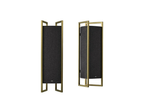 KLANG 9 Active 3-way Closed Speaker Pair Gold