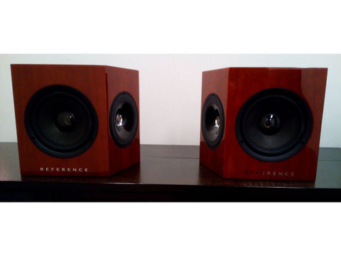 KEF 206DS Speaker Pair + 202C Centre Cherry Pre-loved
