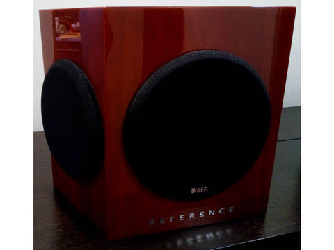KEF Reference Series 206DS Speaker Pair Cherry Pre-loved