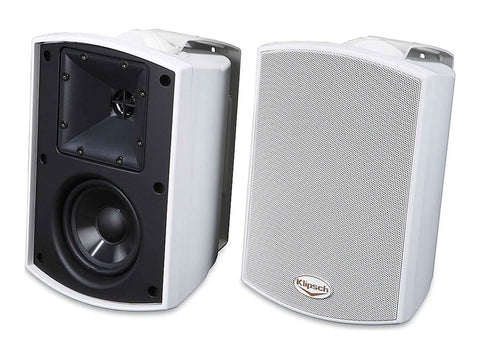 AW-400 Outdoor Speaker Pair White