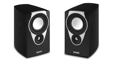 SX1 Bookshelf Speaker Pair- Gloss Black