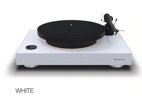 Levitating Turntable White