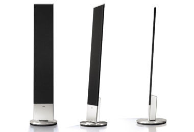 loewe individual sound standspeaker slim klapp audio visual. Black Bedroom Furniture Sets. Home Design Ideas