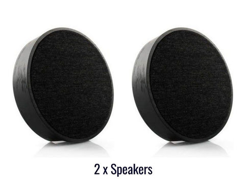 2 x ART ORB Wireless Speakers Black