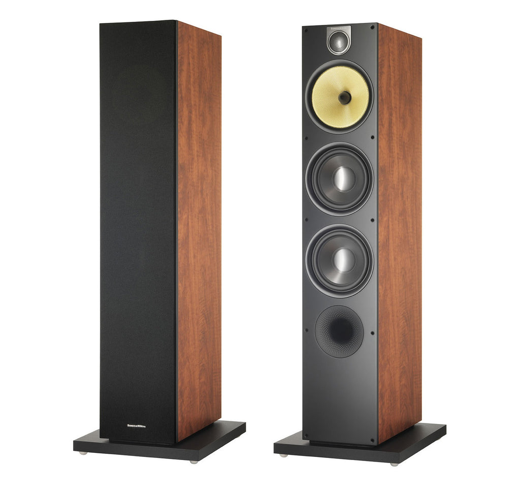 683 S2 - Red Cherry Floor Standing Speaker Pair