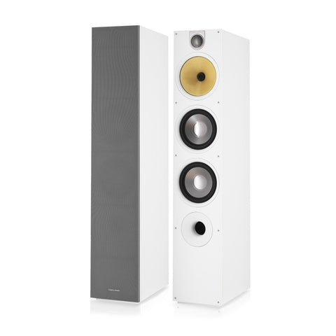 683 S2 - White Floor Standing Speaker Pair
