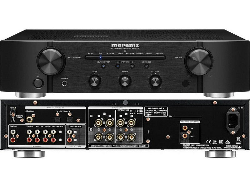 PM6006 Integrated Amplifier in Black