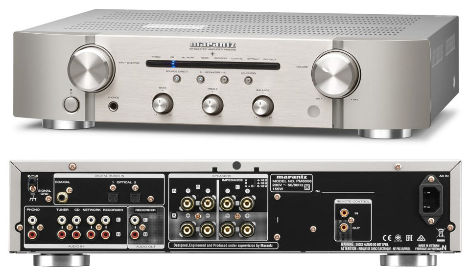 Marantz PM6006 Integrated Amplifier in Silver | Klapp Audio