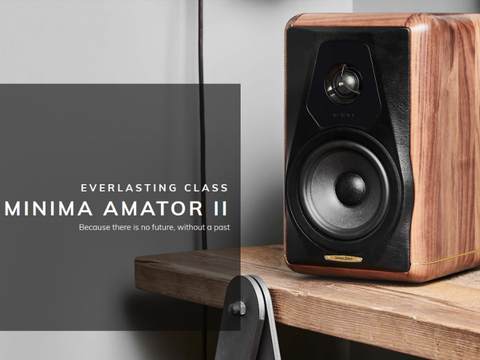 Minima Amator II Standmount 2-way Vented Loudspeaker Pair