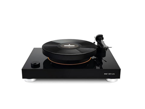 Levitating Turntable Silver Black
